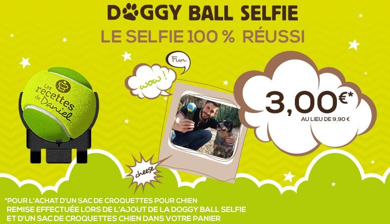Doggy Ball Selfie, pour un selfie 100% réussi